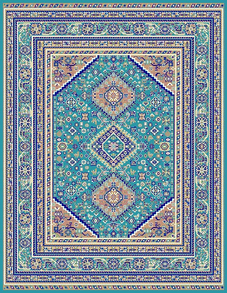 Taj Mahal 105 Light-Blue