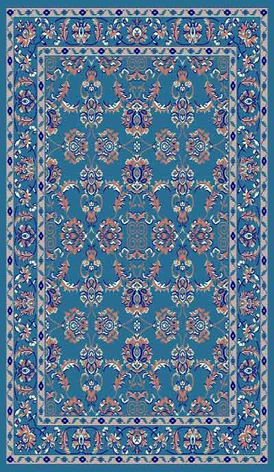 Taj Mahal 108 Light-Blue