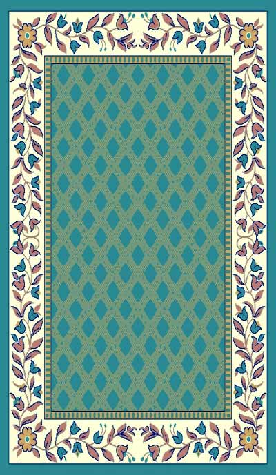 Taj Mahal 115 Light Blue