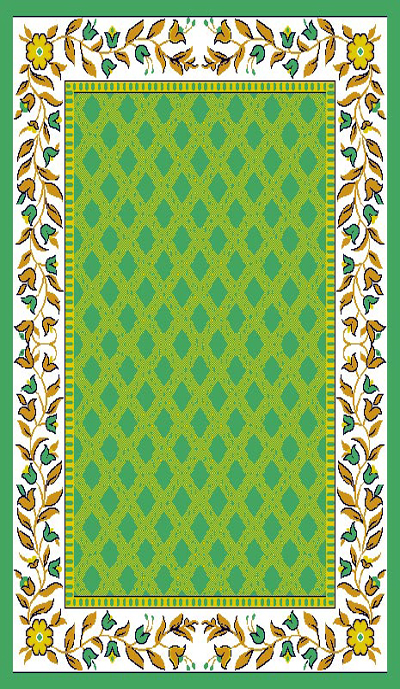 Taj Mahal 115 Light Green