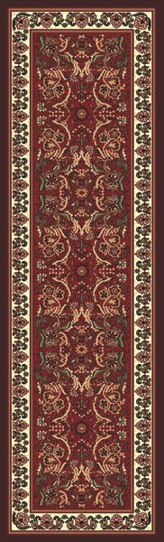 Kingdom D126 Burgundy Runner
