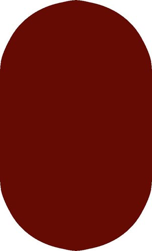 Concord Burgundy Oval